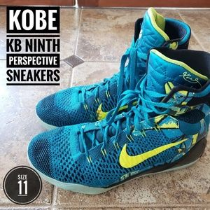 NIKE KOBE KB NINTH PERSPECTIVE SNEAKERS  SIZE 11